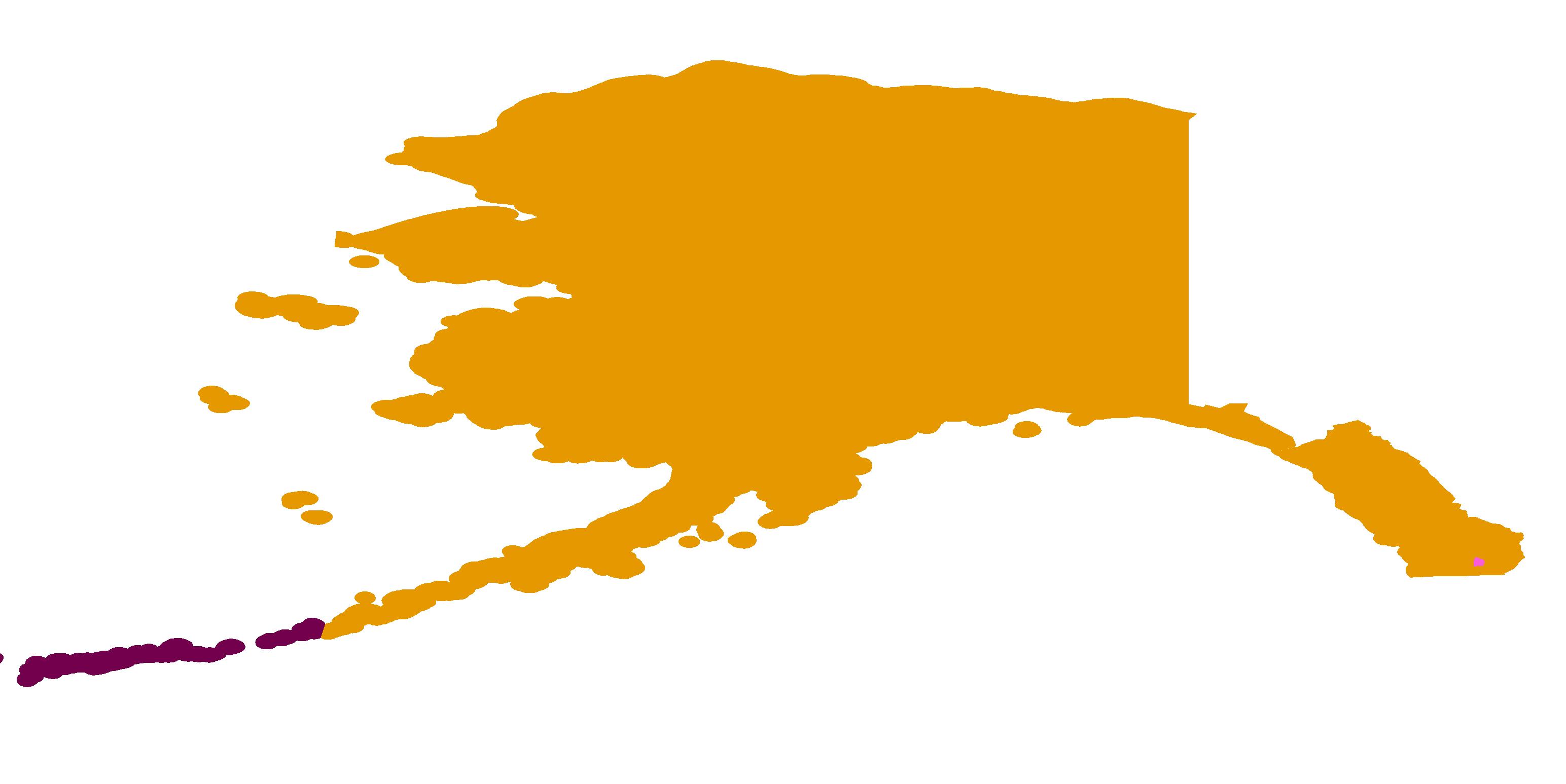 Alaska Time Zone Map